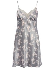 Floral print chemise nightdress