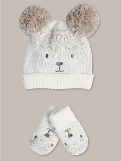 Hat and mittens set (0-24mths)