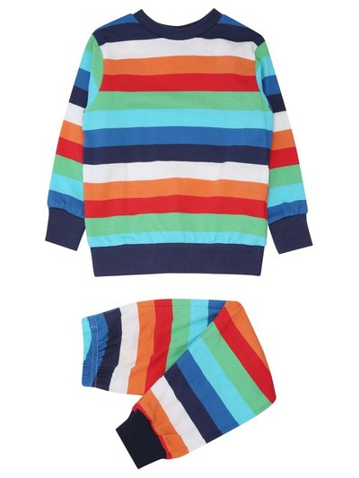 Rainbow stripe pyjamas (1-6yrs)