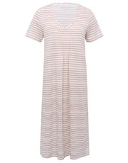 Pink stripe nightdress