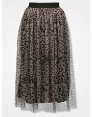 Sonder Studio animal tulle skirt