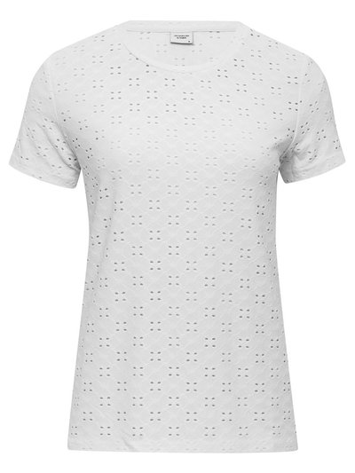 JDY broderie anglaise t-shirt