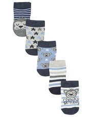 Cheeky monkey socks five pack