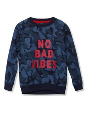 Threadboys camouflage slogan sweatshirt (5 - 13 yrs)