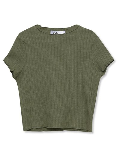 Ribbed t-shirt (3-12yrs)