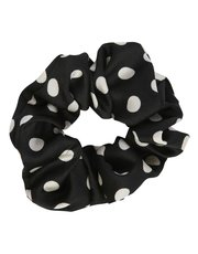 Muse polka dot print hair scrunchie