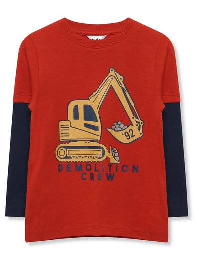 Slogan digger t-shirt (9mths-5yrs)