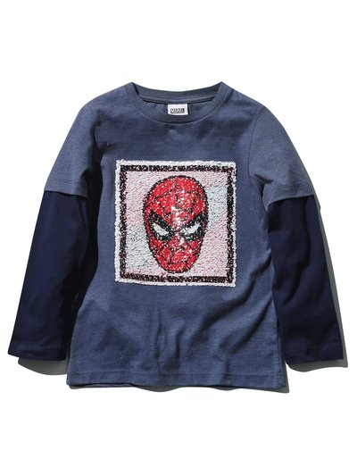 Spiderman two way sequin t-shirt (3 - 10 yrs)