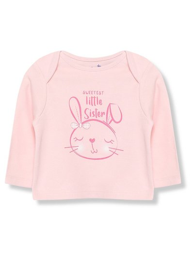 Little sister t-shirt (Tiny baby - 18 mths)
