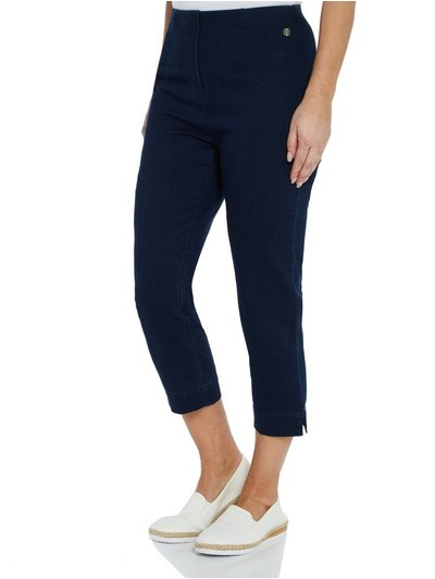 VIZ-A-VIZ denim crop jegging