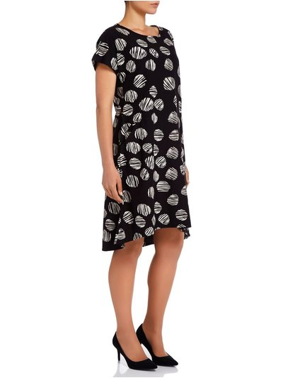 VIZ-A-VIZ printed dress