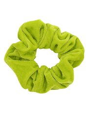 Teen neon velour scrunchie