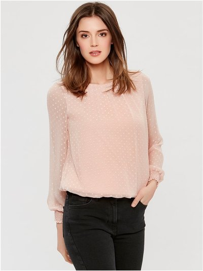Textured blouse