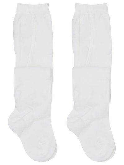 White tights two pack