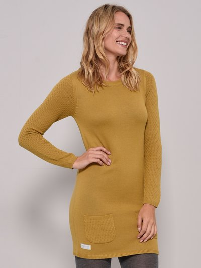 Brakeburn knitted tunic dress