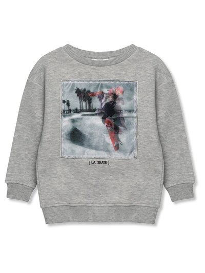 Holographic skater sweatshirt (3-12yrs)