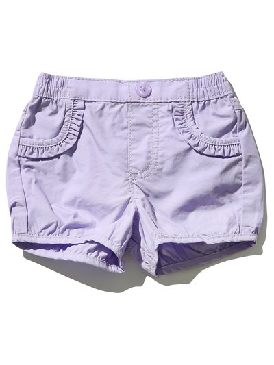 Frill trim shorts (0mths-4yrs)