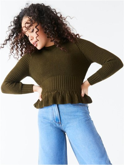 Teen peplum jumper