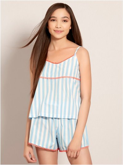 Teens' stripe pyjamas