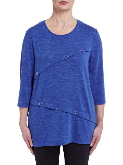 TIGI button tunic top