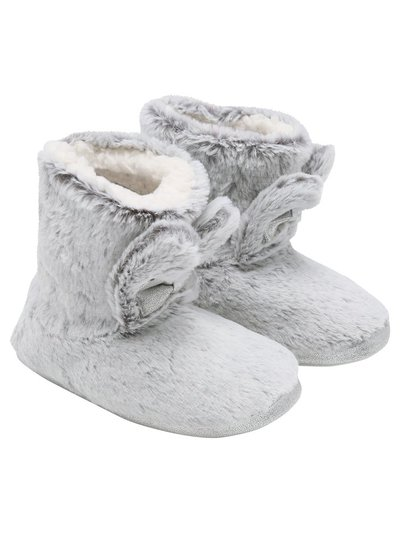 Bunny ear boot slippers