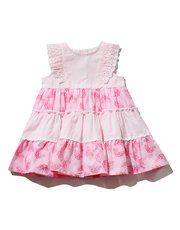 Tiered butterfly dress
