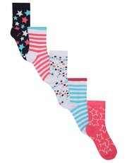 Star socks five pack