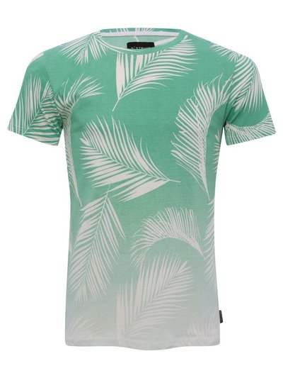 Dstruct palm print faded t-shirt
