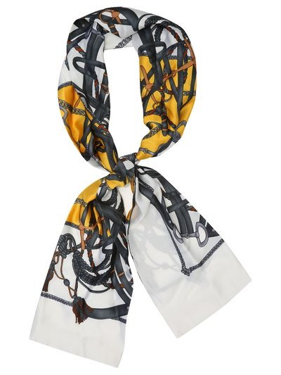 Muse chain print scarf