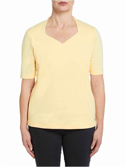Penny Plain sweetheart neck top