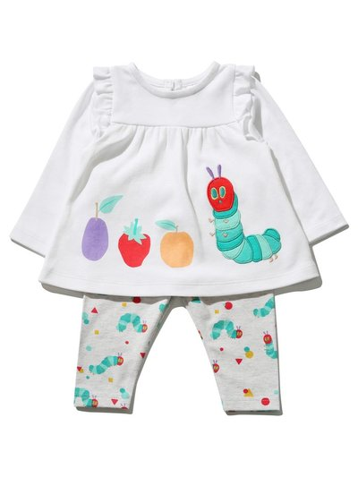 The Very Hungry Caterpillar two piece outfit set (Newborn - 18 mths)