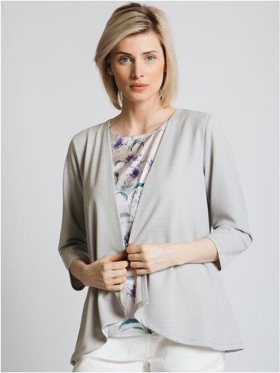 Jessica Graaf cardigan with printed insert