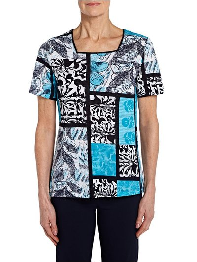 TIGI printed panel top