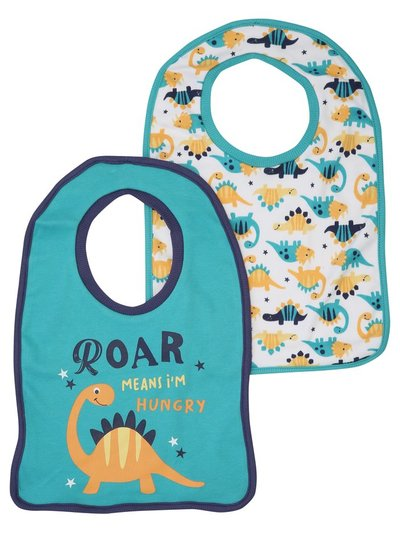 Dinosaur bibs two pack