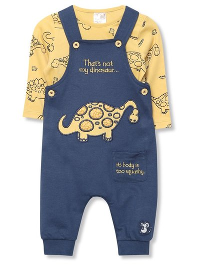 That's Not My dungarees and bodysuit set (Tinybaby-24mths)