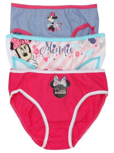 Disney Minnie Mouse briefs three pack (2-8yrs)