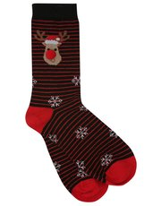 Christmas reindeer socks