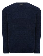 Chenille crew neck jumper