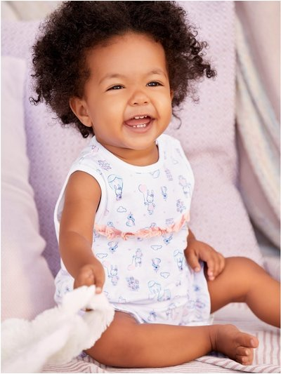 Frill romper two pack (Newborn - 18 mths)