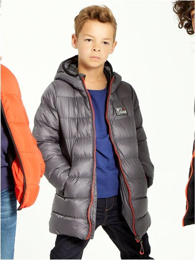 Longline padded coat (3-12yrs)