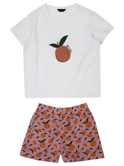 Teen peach pyjamas