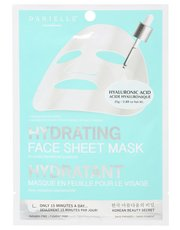 Hydrating sheet face mask