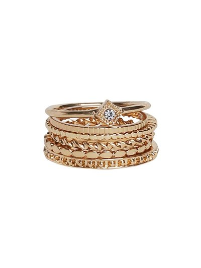Stacking ring six pack