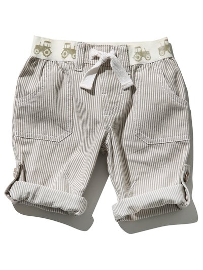 Roll up stripe trousers (0mths-4yrs)