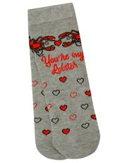 Teen lobster Friends socks