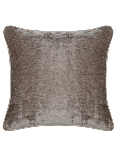 Reversible chenille cushion