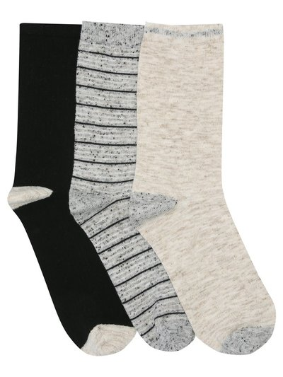 Yarn socks three pack