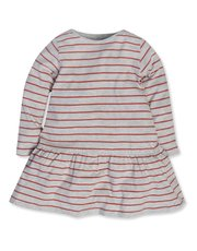 Long sleeve stripe dress (9mths-5yrs)