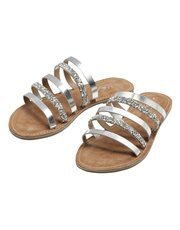 Diamante multi strap sandals