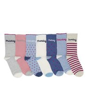 Days of the week socks seven pack